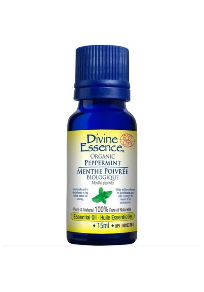 Divine Essence - Huile essentielle bio - Menthe Poivré 15ml
