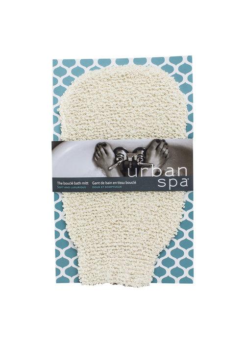 Urban Spa Urban Spa - Gant de bain en tissus bouclé