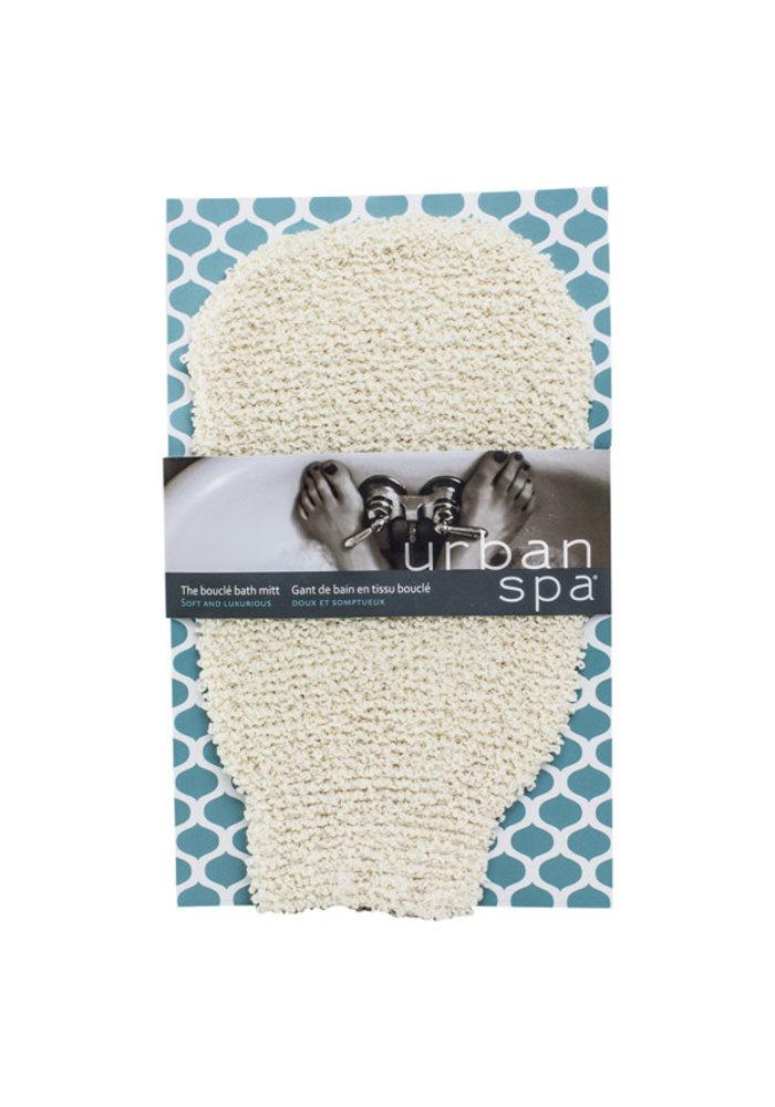 Urban Spa - Gant de bain en tissus bouclé