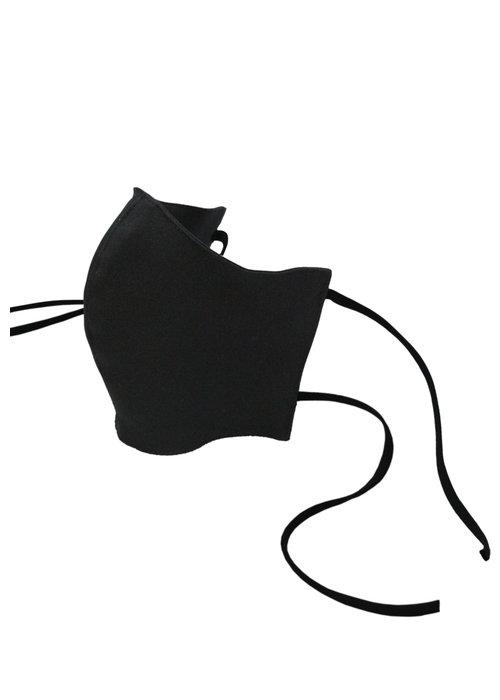Masque de protection avec filtre et cordon - Noir