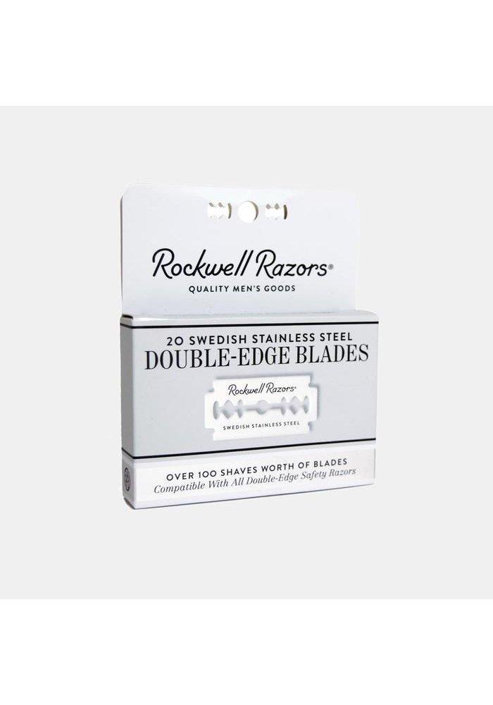 Rockwell Razors - 20 lames de rasoir
