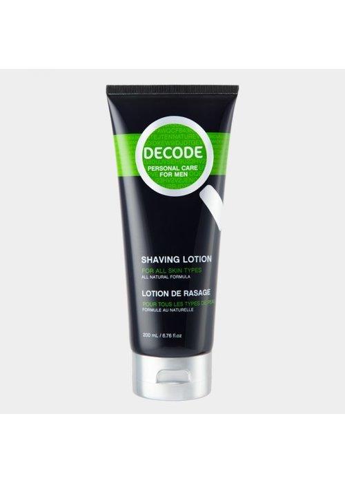 Decode Decode - Lotion de rasage tout type de peau 200ml