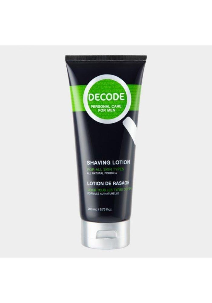 Decode - Lotion de rasage tout type de peau 200ml