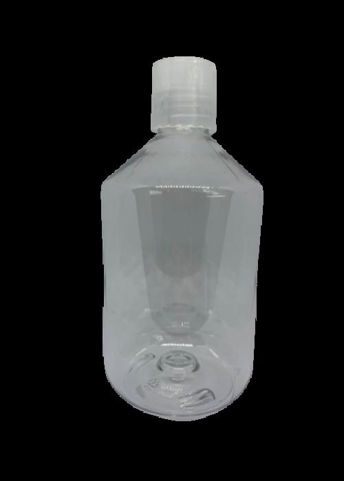 Pure Pure - Contenant 500ml plastique avec bouchon (poids vide: 42g)