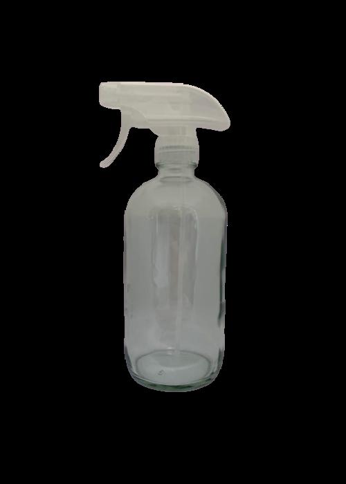 Pure Pure - Contenant 500ml verre avec vaporisateur (poids vide: 324g)