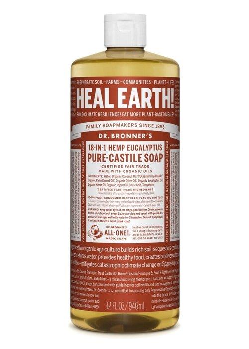 Dr. Bronner Dr. Bronner - Vrac - Savon de castille - Eucalyptus 500ml