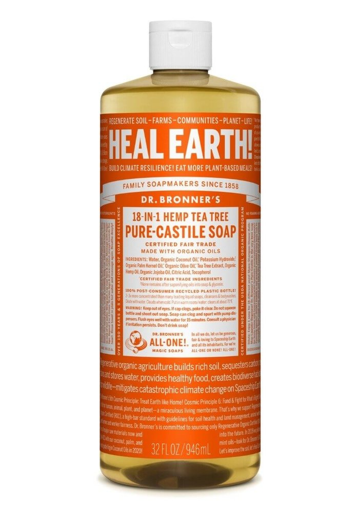 Dr. Bronner - Vrac - Savon de castille - Tea Tree 500ml