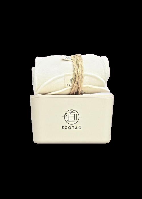 EcoTao EcoTao - Coffret beauté Beige 7 lingettes