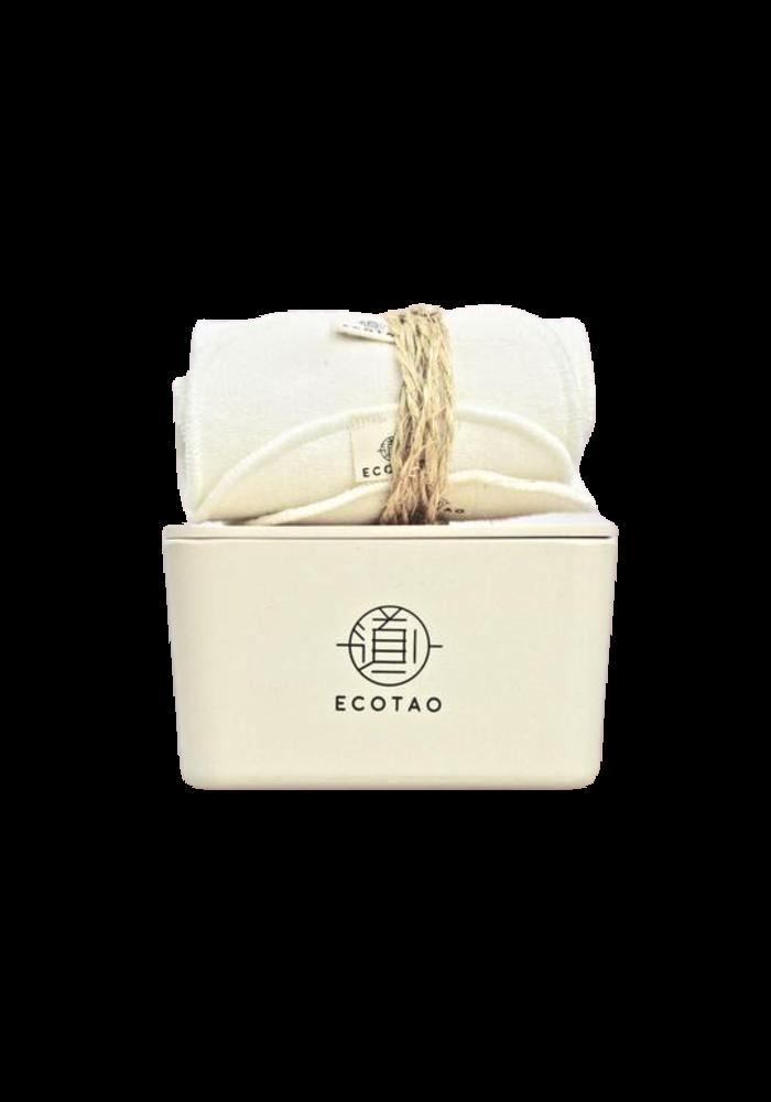 EcoTao - Coffret beauté Beige 7 lingettes