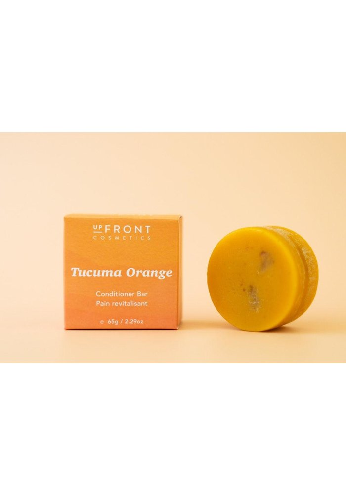 Upfront Cosmetics - Revitalisant en barre - Tucuma Orange