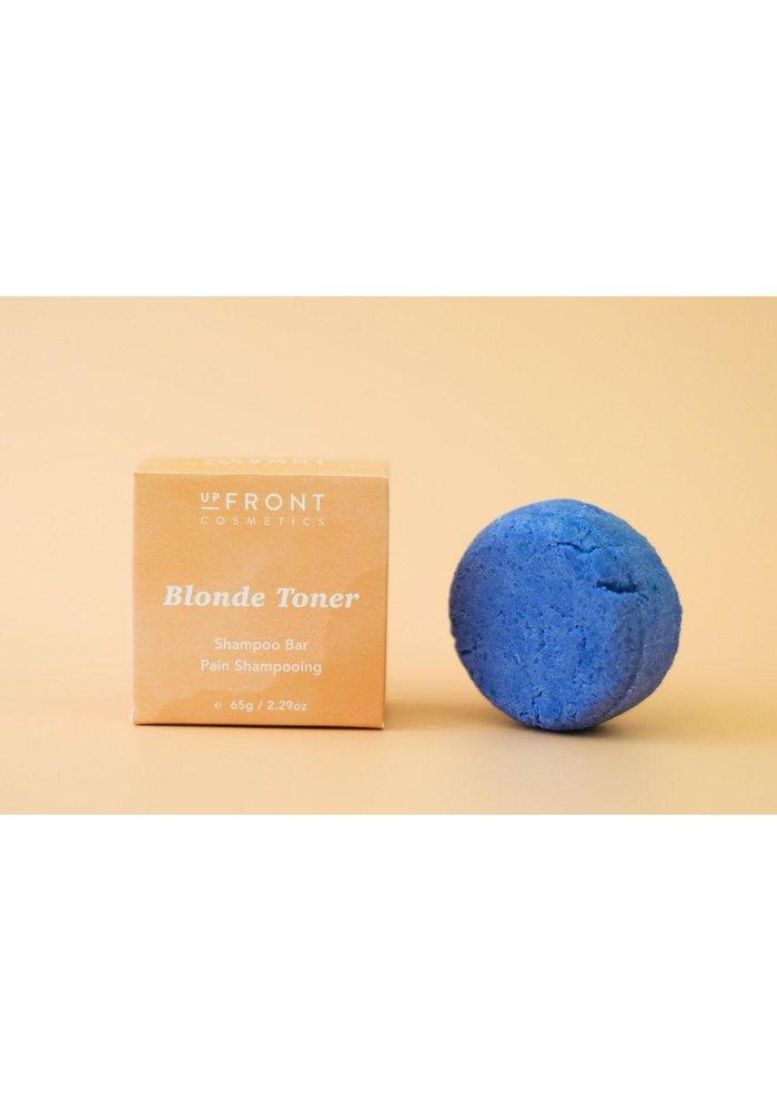 Upfront Cosmetics - Shampoing en barre - Blond tonic