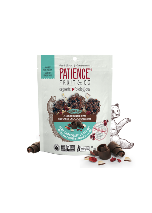 Patience Patience Fruit & co. - Bouchées Choco-Croquantes Chocolat noir et noix de coco