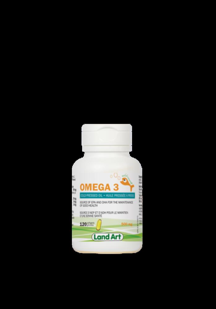 Land Art - Omega 3 - 120 capsules
