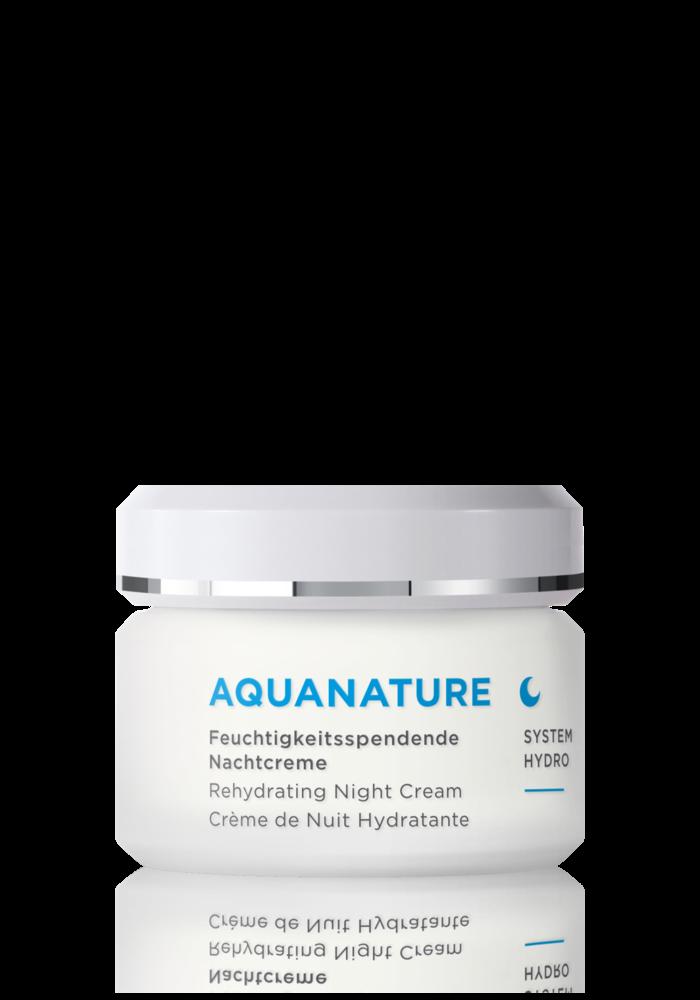 Anne Marie Börlind - Aqua Nature - Crème de nuit hydratante 50ml