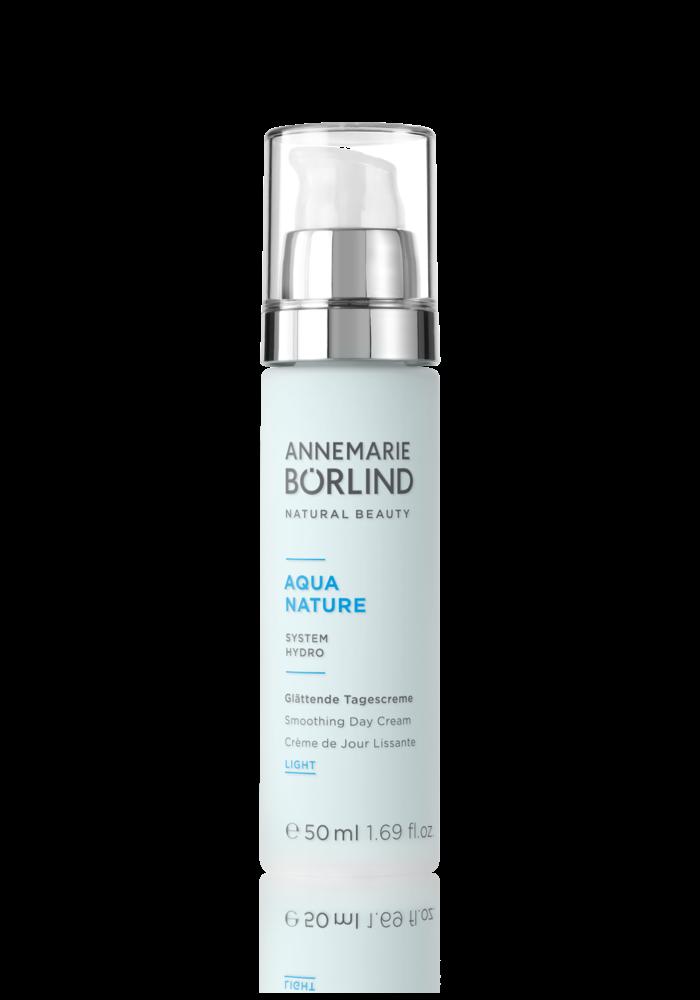 Anne Marie Börlind - Aqua Nature - Crème de jour lissante LIGHT en pompe 50ml