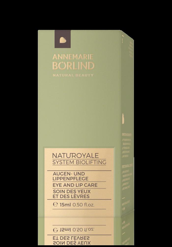 Anne Marie Börlind - NatuRoyale - Crème Yeux et Lèvres 15ml