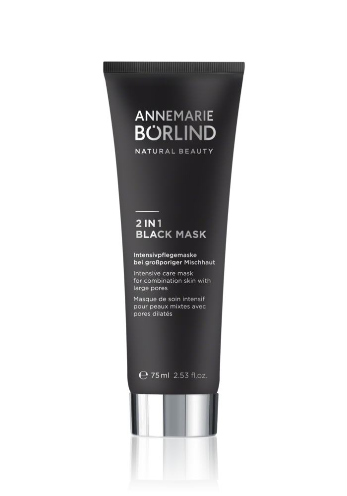 Anne Marie Börlind - Masque noir 2 en 1