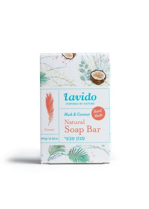 Lavido Lavido - Savon en barre - Musk & Noix de coco
