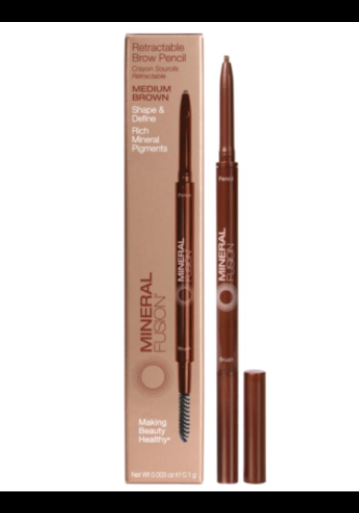 Mineral Fusion - Crayon à sourcils - Medium Brown