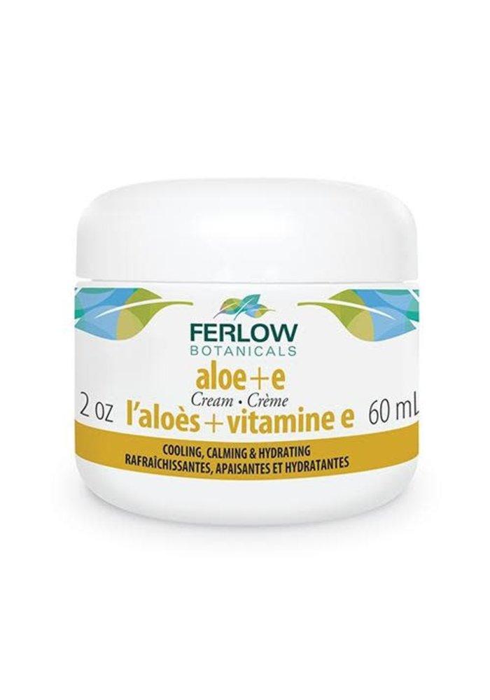 Ferlow Botanicals - Crème visage Aloès et Vitamine E