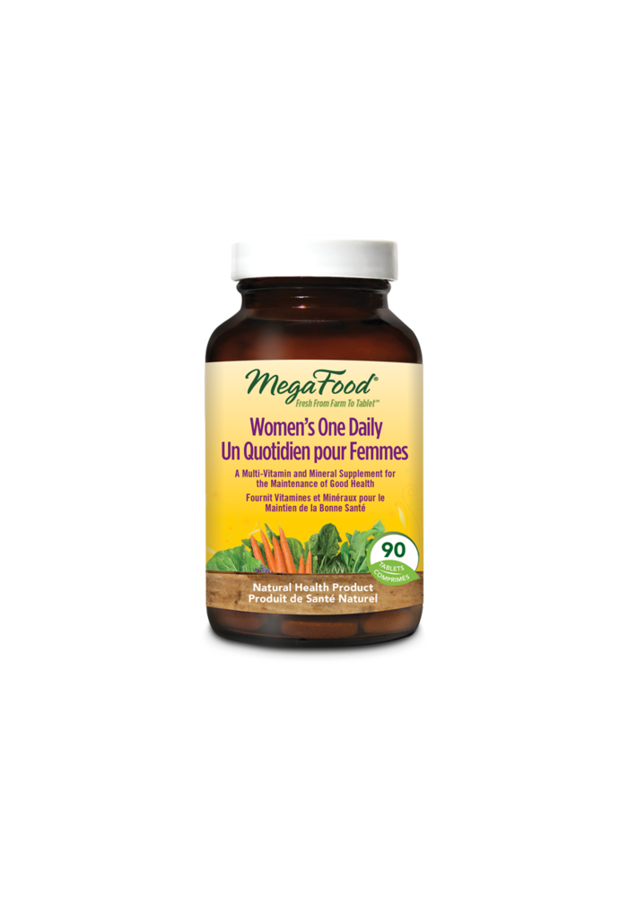 Mega Food - Un Quotidien pour Femmes - Multi-Vitamine 90 comprimés