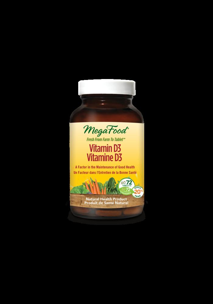 Mega Food - Vitamine D3