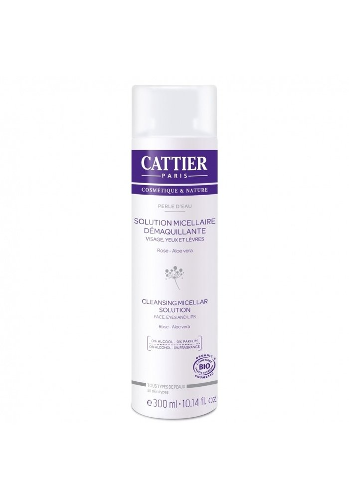Cattier - Solution Miscellaire Démaquillante 300ml