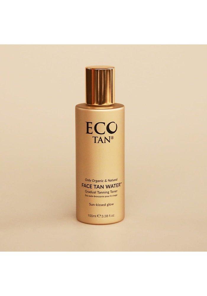 Eco Tan - Eau auto-bronzante pour le visage 100 ml - naturel