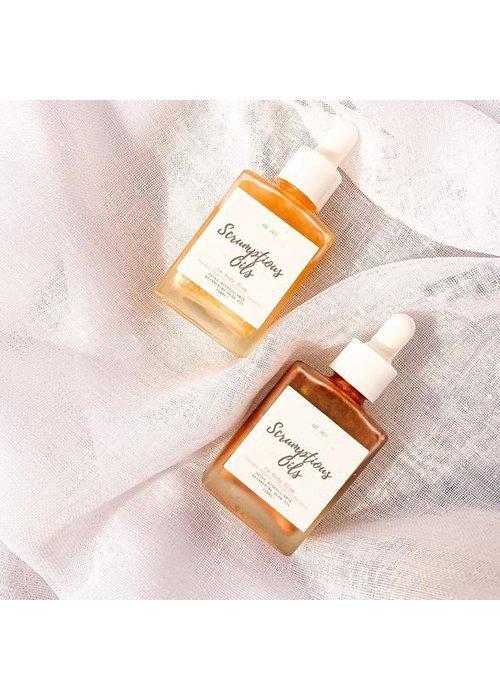 Scrumptious Oils Scrumptious Oils - Huile Scintillante pour le corps - Paradis Tropical GOLD 30ml