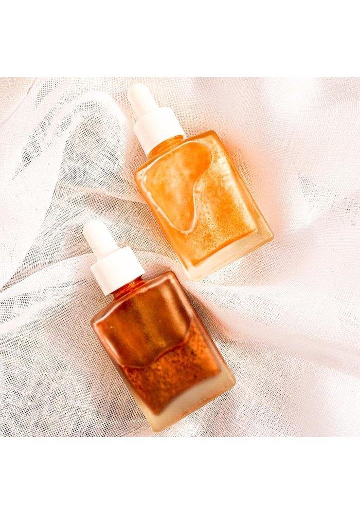 Scrumptious Oils - Huile Scintillante pour le corps - Paradis Tropical GOLD 30ml