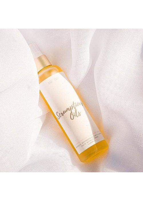 Scrumptious Oils Scrumptious Oils - Masque réparateur Capillaire - Mangue Papaye 100ml