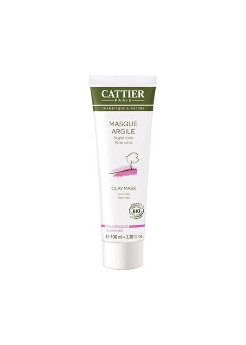 Cattier Cattier - Masque argile rose aloès 100ml