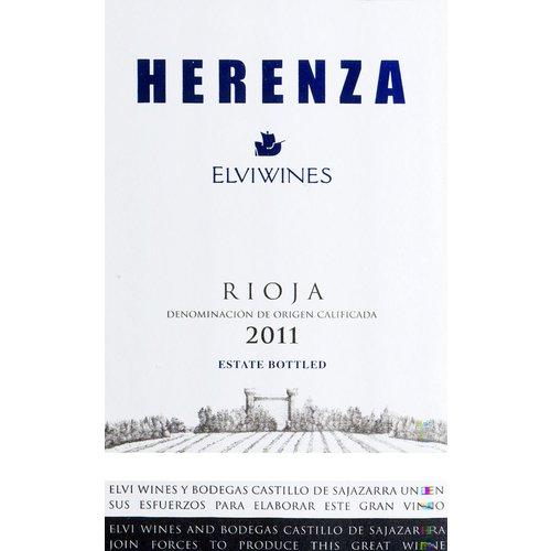 Wine ELVI HERENZA RIOJA 2016