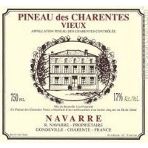 Fortified Wine R. NAVARRE PINEAU DES CHARENTES VIEUX