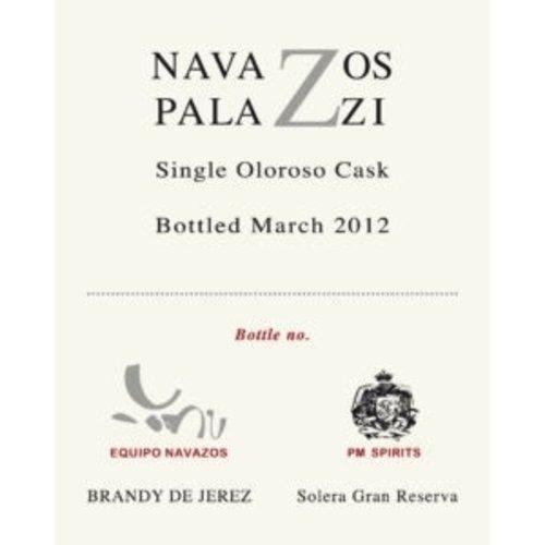 Spirits NAVAZOS-PALAZZI SINGLE CASK OLOROSO BRANDY 375ML