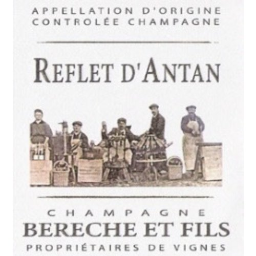 Sparkling BERECHE ET FILS BRUT 'REFLET D'ANTAN' CHAMPAGNE NV