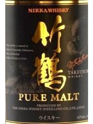 Spirits NIKKA TAKETSURU 'PURE MALT' WHISKY