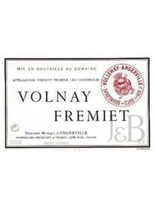 Wine MARQUIS D'ANGERVILLE VOLNAY 'FREMIETS' 1ER CRU 2015