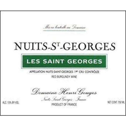 Wine HENRI GOUGES NUITS SAINT GEORGES 'LES SAINT GEORGES' 1ER CRU 2014