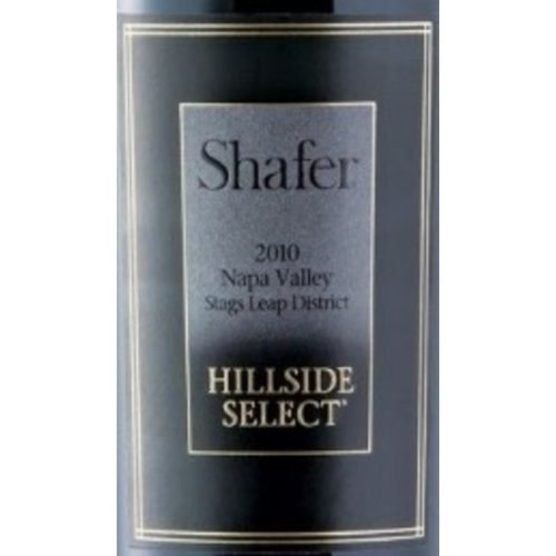 Wine SHAFER CABERNET SAUVIGNON 'HILLSIDE SELECT' 2010 6L