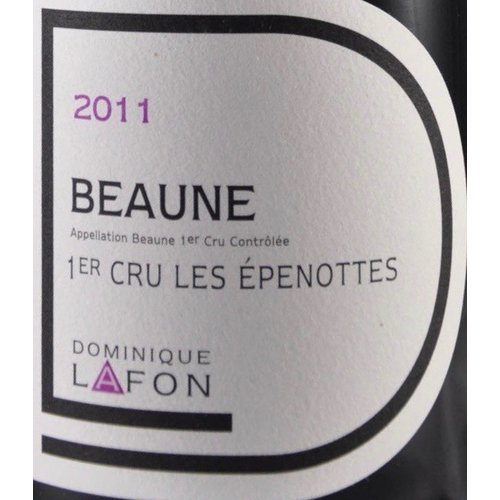 Wine DOMINIQUE LAFON BEAUNE 'LES EPENOTTES' 1ER CRU 2011
