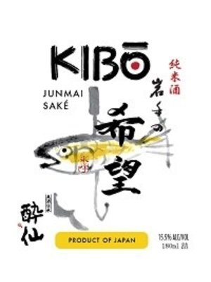 Wine KIBO JUNMAI SAKE 180ML