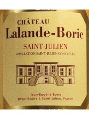 Wine CHATEAU LALANDE BORIE SAINT JULIEN 2015