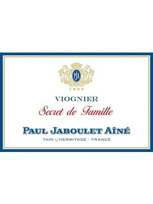 Wine PAUL JABOULET VIOGNIER 'SECRET DE FAMILLE' 2017