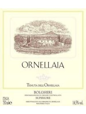 Wine ORNELLAIA 2015