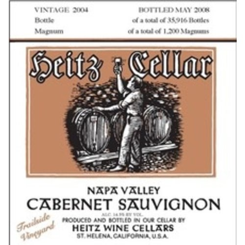 Wine HEITZ CABERNET SAUVIGNON TRAILSIDE VINEYARD 2012