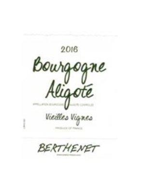 Wine DOMAINE BERTHENET ALiGOTE VIELLES VIGNES 2016