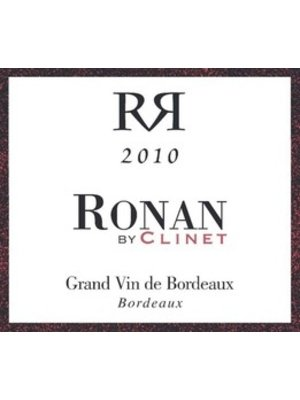 Wine RONAN BY CLINET GRAND VIN DE BORDEAUX 2015