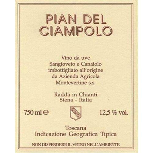 Wine MONTEVERTINE PIAN DEL CIAMPOLO ROSSO DI TOSCANA 2017