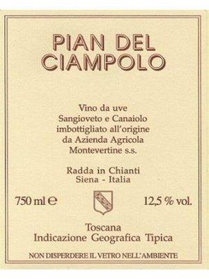 Wine MONTEVERTINE PIAN DEL CIAMPOLO ROSSO DI TOSCANA 2015 1.5L